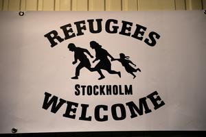 Joel Larsson vill berätta om den situation som många av de ensamkommande som kommit hit fått uppleva.