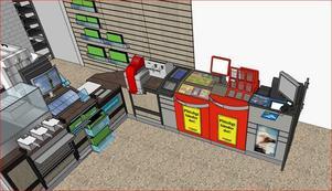 Nu investerar Ica cirka 150 000 för att bygga om förbutiken så att det också ska gå att spela där.