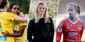 Freweyni Tewelde, Maja Hansson och Nellie Wallner är alla kallade på läger på Bosön nästa vecka.