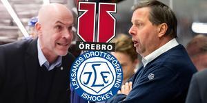 Olsson är tacksam över att han fick vara med på Leksands resa under våren. I Hockeypuls podcast berättar han hur han förändrats som tränare och hur Örebro ska uppfattas nästa säsong. Foto: Daniel Eriksson / BILDBYRÅN / TT.