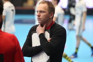 Runstens tränare Johan Haglund