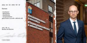 Ekobrottsmyndighetens åklagare Niklas Jeppsson bad att få rättegången uppskjuten för att kunna utreda nya handlingar som lämnats in. Foto: Linda Hedenljung / Henrik Olofsson/pressbild
