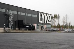 Anläggningen utanför Vansbro syns mycket bra från E16 och förhoppningsvis ska kunderna stanna till och göra ett besök i butiken.