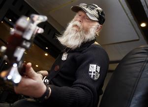 Björn Aggemyr spelar bas i Gubbröra bluesband. Arkivfoto: Mats Andersson