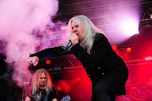 2015 spelade Saxon på Getaway Rock Festival i Gävle.  Foto: Peder Andersson