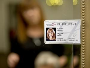 Carina Gregor är en av de första i Sundsvall som har fått sin licens.