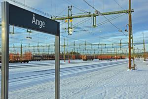 Bangården i Ånge kommer att rustas upp för runt 200 miljoner i sommar.