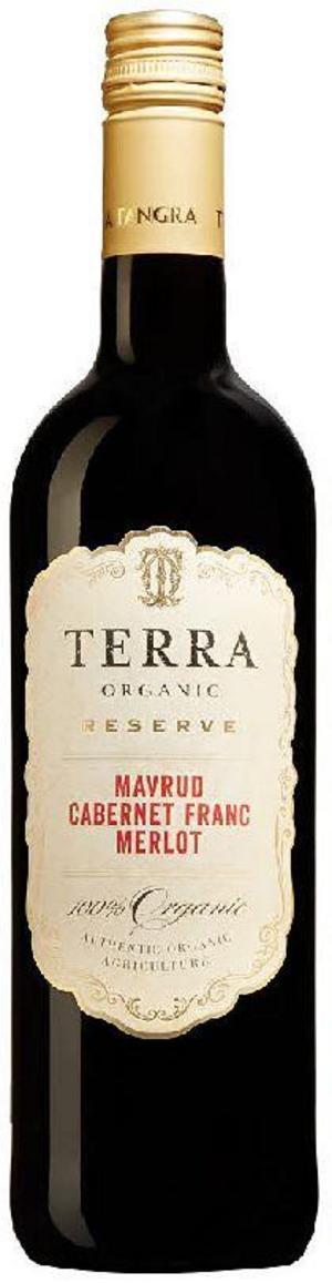 Terra Organic Reserva Mavrud Cabernet Franc Merlot 2016.