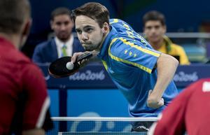 Emil Andersson under Paralympics i Rio de Janeiro 2016.  Foto: Björn Larsson Rosvall / TT