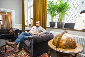 Markus Enock är kontorschef på Consid, som huserar i lokalerna sedan årsskiftet.