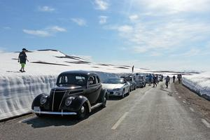 En del av fjolårets resa på Vildmarksvägen.Bild: Kent-Roger Lindström