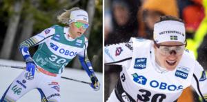 Frida Karlsson och Ebba Andersson var två av svenskorna att hålla ögonen på.