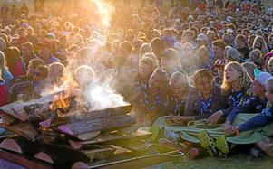 Scoutläger som det här kommer sannolikt inte att bli av i sommar.Foto: Magnus Fröderberg
