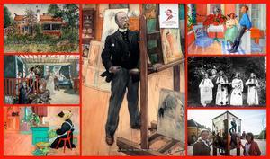 Konstnären Carl Larssons vackra hem med färgval och inredning fortsätter att fascinera och inspirera.                            Foto: Carl Larsson-gården