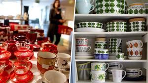 Porslin är just nu stekhett på andrahandsmarknaden.Bild Jessica Gow/TT.