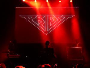 Stockholmsbandet Priest spelade på Gasklockorna. Foto: Janne Mattsson.