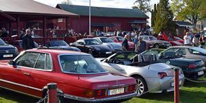 Årets nionde och sista bilträff genomförs på torsdag.