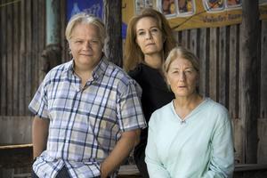 Kjell Wilhelmsen, Maria Lundqvist och Lotta Telje.