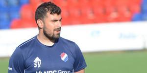 Kvarnsvedens tränare Sercan Yilmaz.