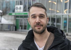 Robert Thomasson, 41, vårdare, Sundsvall