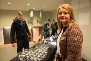 Linnéa Frisk från destinationsbolaget hoppas och tror på en fortsättning av ölmarknaden nästa år.