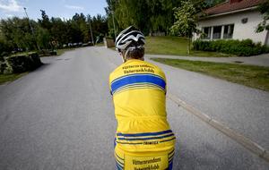 Jan Karlsson har en given plats i Vätternrundans veteranklubb.