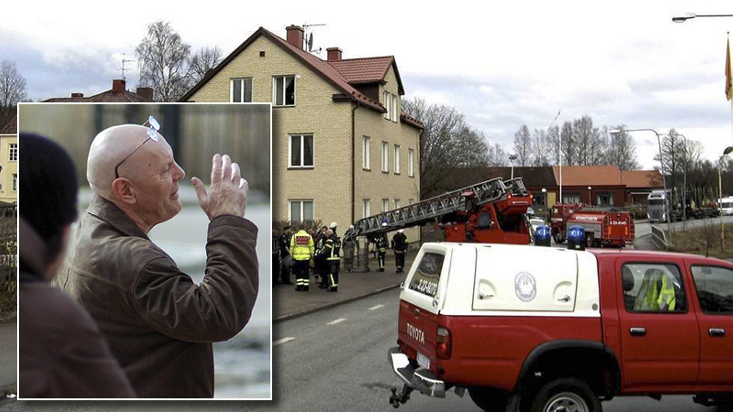 Svartenbrandt greps av polis