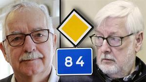 Lars Molin, (M) säger ja till folkomröstning, men liberalernas Harald Noréus kallar folkinitiativet för