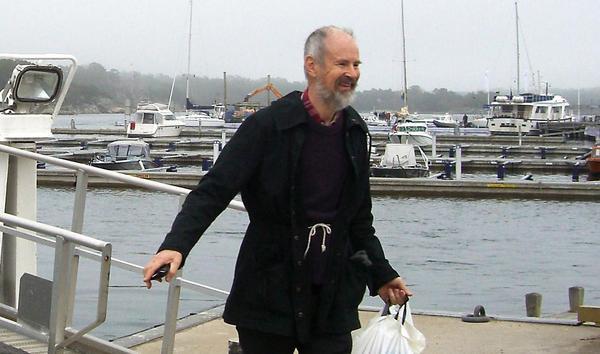 Lennart Hultman var en sann friluftsmänniska som så gott som dagligen vistades i naturen. Tillsammans med hustrun Eva ägde han en ö i närheten av Runmarö, där han vistats sedan barnsben. Foto: Privat