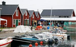 Bild: Andreas Hansson  Lörudden och Sillmans restaurang längst ut mot havet.