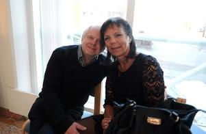 Eva-Marie Bergström och Hans Bergström hade åkt från Kramfors.