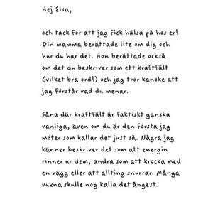 Ett brev från detektiven ur boken