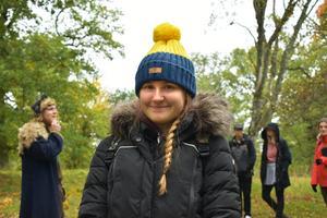 Artonåriga Georgie är väldigt nöjd med sitt livs första Sverigebesök. Hon har klickat lite extra bra med en av de svenska tjejerna i Sam Flex.