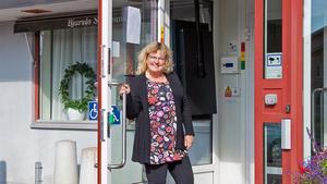 Bjursås Sparbank är och ska vara en bank där alla känner sig välkomna,  säger Kristina Fredriksson.