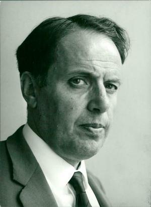 LO-ekonomen Rudolf Meidner 1966. Foto: Harald Borgström/Svenska Dagbladet