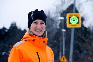 Emma Nordebo Snygg, gatuchef i Ljusdals kommun.