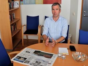 Karl Hulterström, regionchef för Svenskt näringsliv i Örebro län.