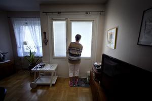Gerd Ågren går inte ut på sin balkong och inne i vardagsrummet har flyttlådorna börjat packas.