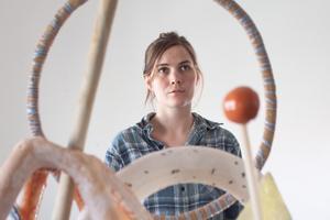 Matilda Haritz Svensson, ordförande för Konst i Dalarna, är bedrövad över beskedet att Borlänge Modern ska läggas ned. Foto: Privat