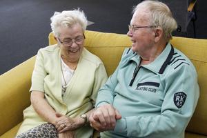 Skrattet är aldrig långt borta när Gunni och Ove berättar om sitt långa liv tillsammans.