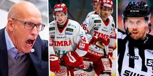 Fredrik Andersson hade synpunkter på domarna. Foto: Bildbyrån.
