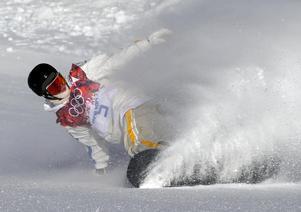 Foto: AP Photo/Andy WongNiklas Mattsson blev SM-guldmedaljör i big air på onsdagen.