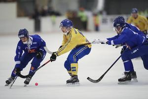 21-årige Elias Gillgren (till höger) gjorde VM-debut tidigare i år. Bild: Adam Ihse / TT
