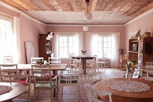Det nyrenoverade Herrgårdscaféet. Foto: Ida Gudmundsson
