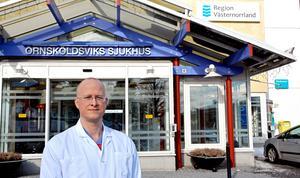 I ett pressmeddelande skriver Lars Rocksén, ordförande i Ångermanlands läkarförening, att: