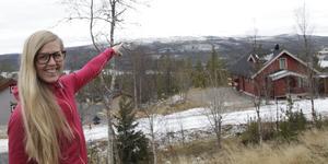 Närheten till naturen med upplevelselöpning eller en lunch ute är något Anna Glad uppskattar i Lofsdalen.
