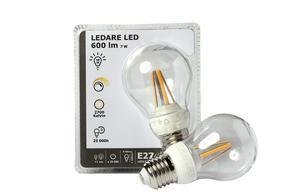 Ikeas ledlampa tar hem segern i Testfaktas test.