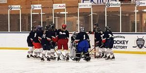 Nolby Hockeys damlag tog första segern någonsin i helgen.