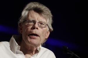 Stephen King. Foto: Mark Lennihan/TT/AP