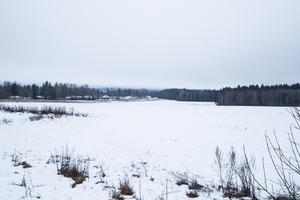 På åkermarkerna på västra sidan av Månsbobacken har kommunen tankar på att bygga flera hundra bostäder i framtiden.
